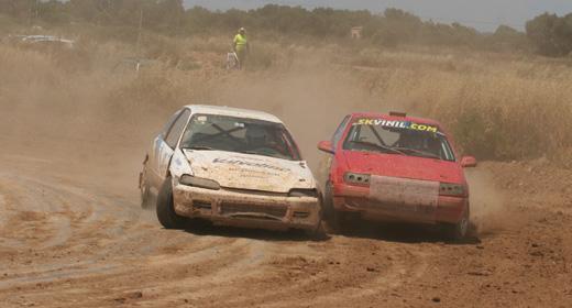 II Autocross Felanitx: calor y polvo...