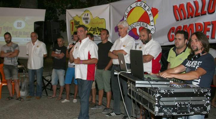 Cena Escudería Mallorca-Previo RVSP' 16