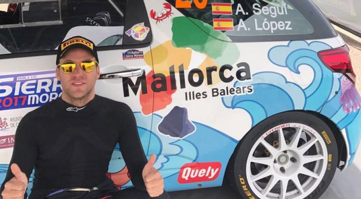 Alberto Seguí: 3ª de su categoría en el Sierra Morena