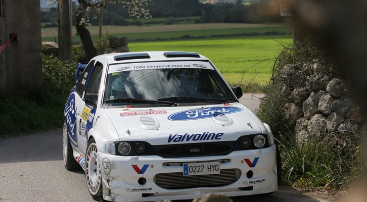 V Rallysprint Mitja Illa: Competición
