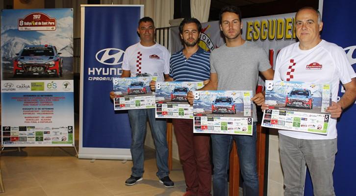 Presentación 8º Rallye Vall de Sant Pere