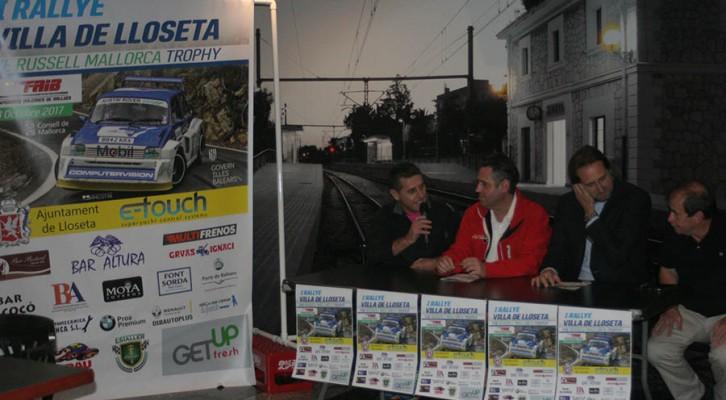 Presentación I Rallye Villa de Lloseta