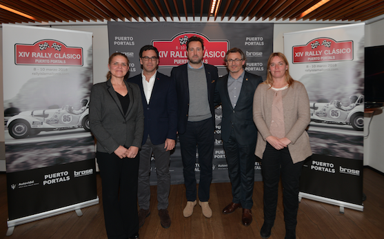Presentación del XIV Rallye Clásico Pto. Portals con Maseratti como nuevo patrocinador