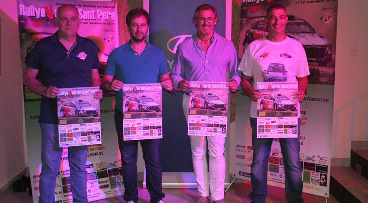 Presentación 9º Rallye Vall de Sant Pere