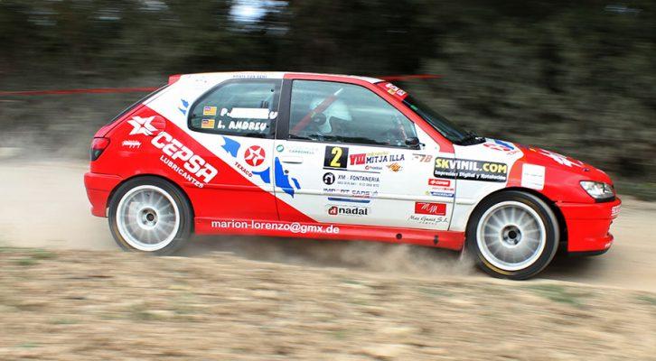VIII Rallysprint Mitja Illa: Competición