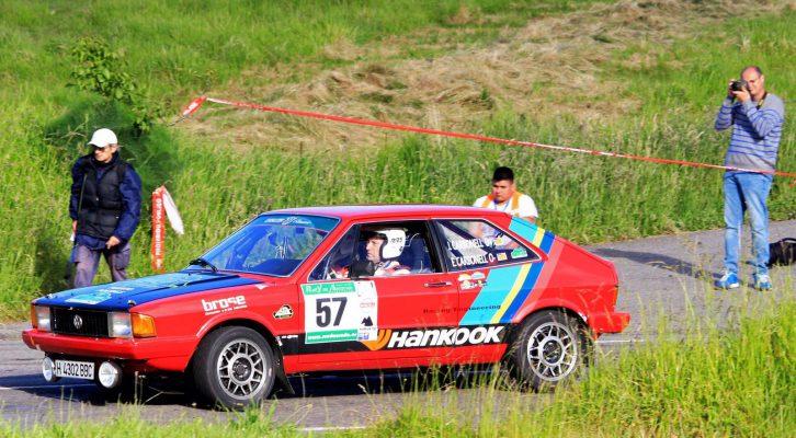 Jaime Carbonell en el Rally Asturias Histórico