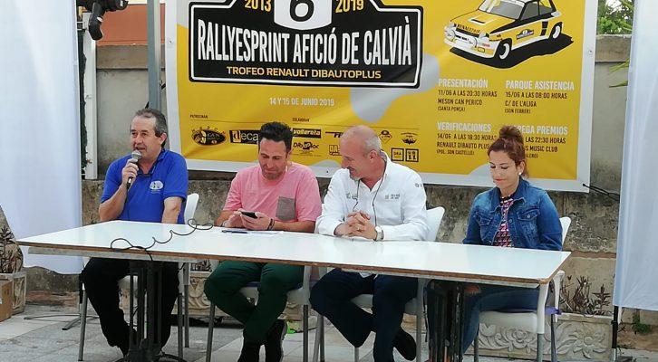 Presentación 6º Rallysprint de l'Afició