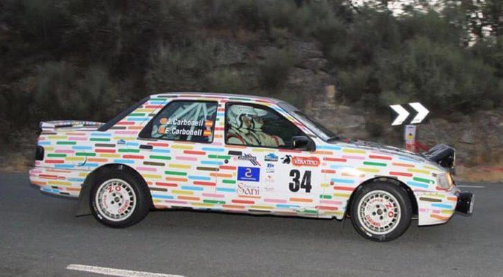 Los hermanos Carbonell 3º en el Rallye Extremadura