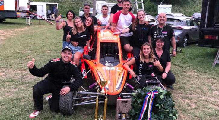 Juanjo Moll en el europeo de autocross