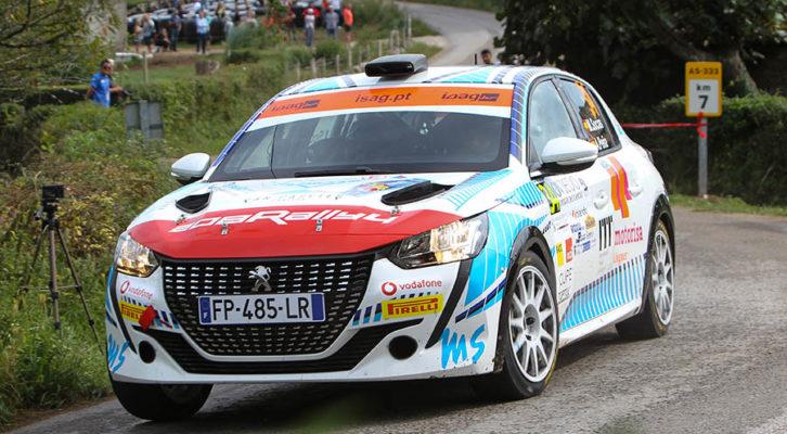 Miguel Socias en el Rallye Princesa de Asturias